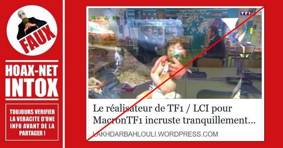 Non, TF1 n'a pas incrusté une image subliminale pour tenter d'influencer les téléspectateurs.