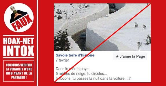 Non, l'image de cette route n'est pas en France.