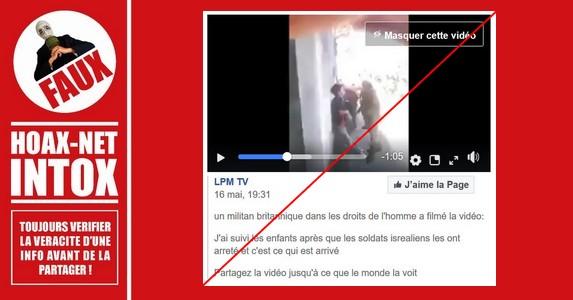 Non, il ne s'agit pas d'un soldat Salvadorien ou Israélien sur cette vidéo