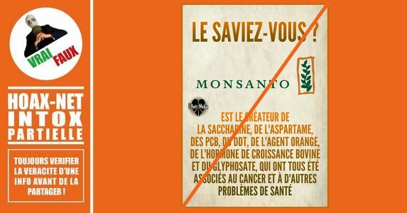 Mise au point sur les «créations» de Monsanto.