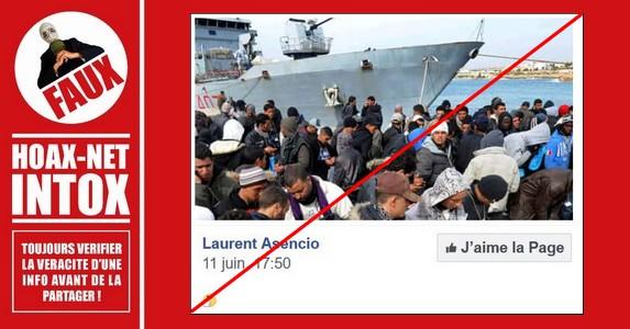 Non, ce ne sont pas les 629 migrants arrivés en Espagne.