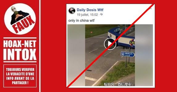 Non, ce camion n'est pas réel, il n'existe que virtuellement.