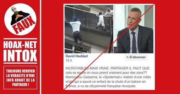Non, Mamoudou Gassama ne sera pas expulsé de la France