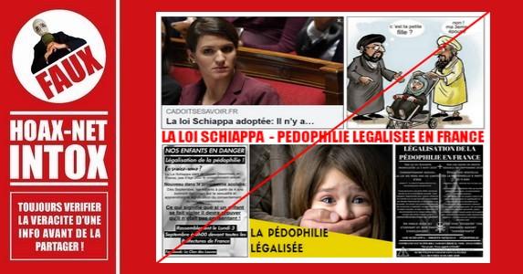 Non, la «Loi Schiappa» ne va pas légaliser la pédophilie en France.