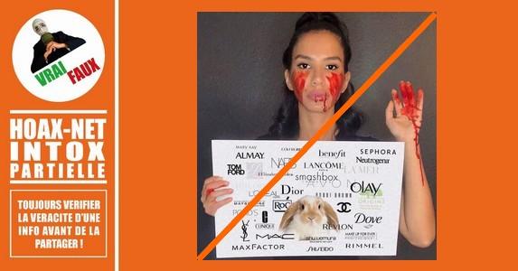 Mise au point sur les tests cosmétiques sur les animaux.