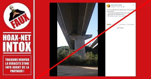 Non, il n'y a pas de soucis avec ce pilier de pont.