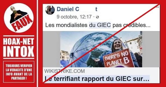 Non, le rapport du GIEC n'est pas «bourré d'erreurs»