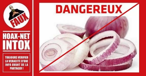 Non, les oignons coupés ne deviennent pas toxiques en quelques heures.