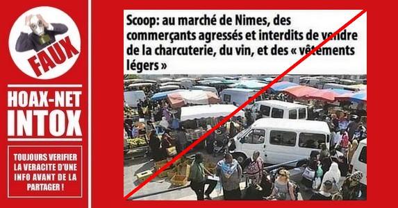 Non, une bande salafiste ne contrôle pas le marché à Nîmes