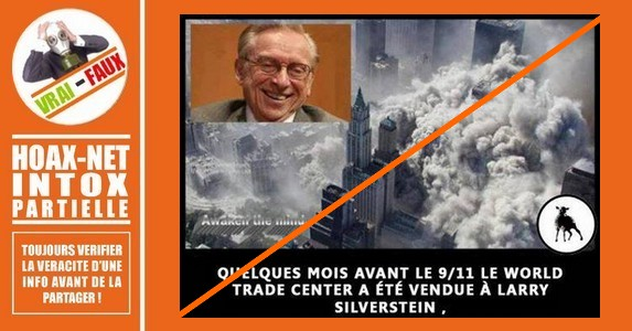 Non, Larry Silverstein n'a pas reçu le double de la valeur assurée du WTC.