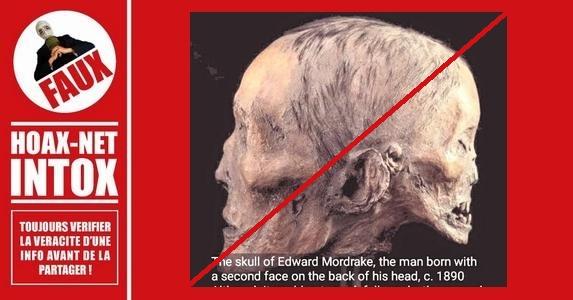 FAUX- Cet homme à deux visages n'a pas existé.