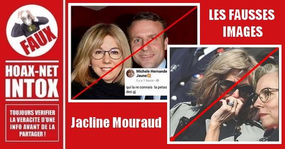 Non, l'une des porte-paroles des «Gilets Jaunes» n'a pas travaillé pour le gouvernement Macron.