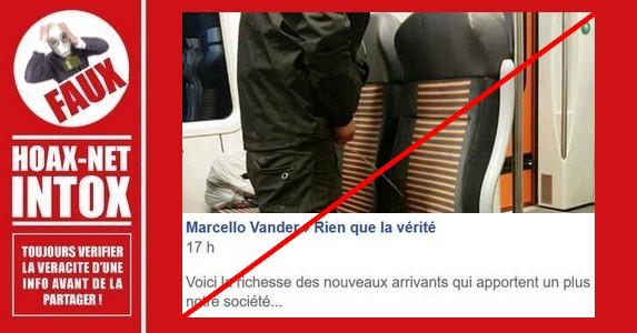 Non, cette photo ne représente pas des «nouveaux arrivants» en France ou en Belgique.
