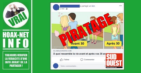 Facebook : attention au piratage « S3 amazonaws »