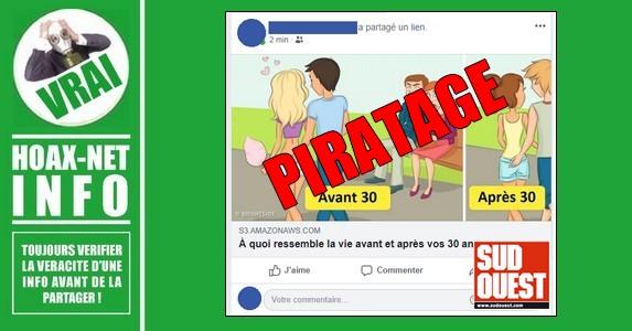 Facebook : attention au piratage «S3 amazonaws»