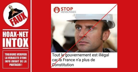 Non, la France n'a pas perdu sa Constitution.
