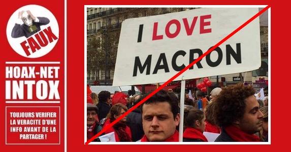 Non, cette photo n'a pas été prise lors de la marche des «Foulards Rouges»