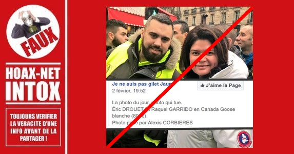 Non, Raquel Garrido ne porte pas de parka Canada Goose