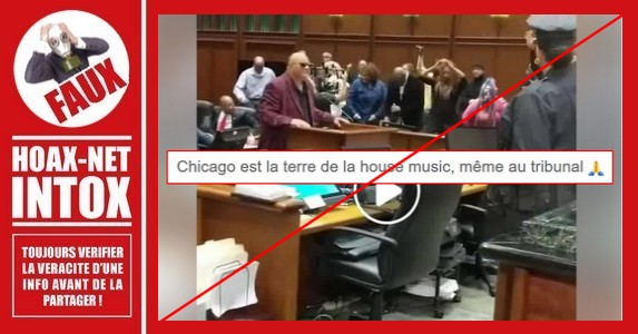 Non, on ne danse pas dans un tribunal de Chicago