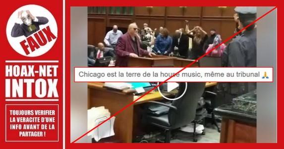 Non, on ne danse pas dans un tribunal de Chicago
