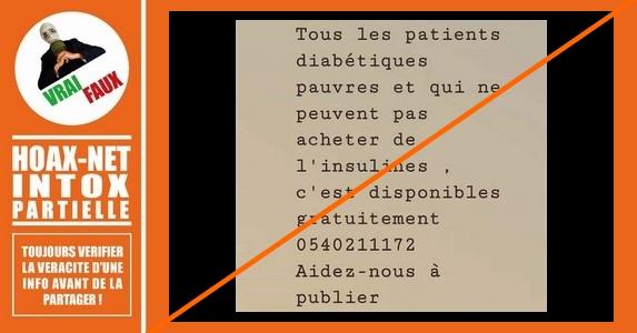 Insuline gratuite : Pour qui ? Pourquoi ?