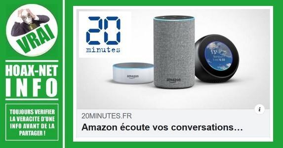 Amazon écoute et analyse vos conversations.