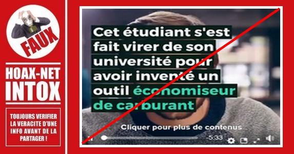 Non, un étudiant n