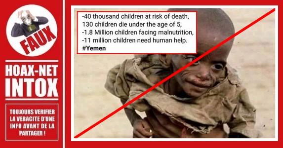 Non, cette photo n'a pas été prise en 2019 au Yémen.