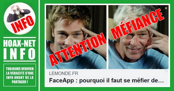 FaceApp, méfiance sur l'application qui vieillit une photo