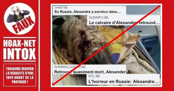 Non, cet homme n'a pas été séquestré par un ours en Russie