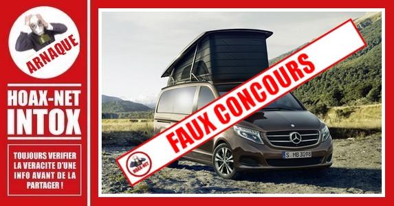 ARNAQUE-Faux concours «SoaringDeals» pour le gain d'une Mercedes