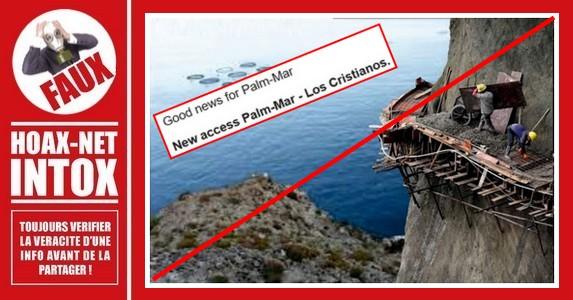 Non, cette photo n'a pas été prise à Palm-Mar (Tenerife)