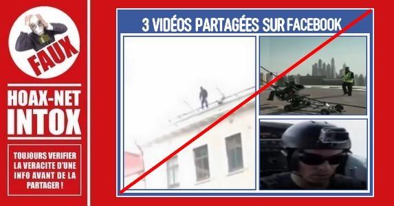 Non, ces 3 personnes ne s'envoient pas en l'air dans ces vidéos !
