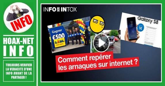 INTOX et ARNAQUES sur le WEB