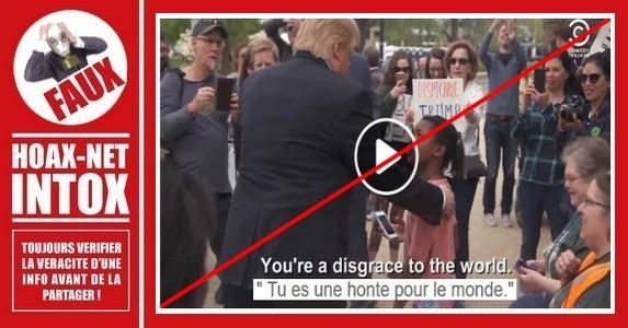Non, cette vidéo ne montre pas Donald Trump