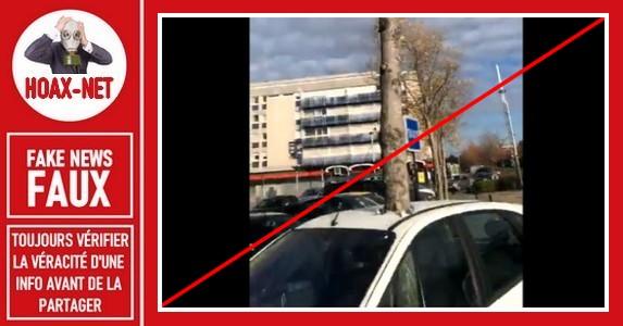 Non, cet arbre n'a pas poussé miraculeusement à travers cette voiture