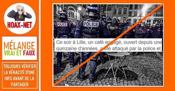 Café Citoyen de Lille-Mise au point sur l'incident du 9 janvier 2020