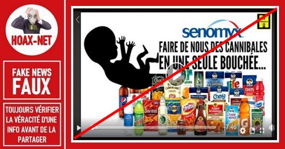 Non, Les produits de Senomyx n'utilisent pas des cellules embryonnaires avortées.