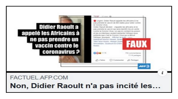 Non, Didier Raoult n