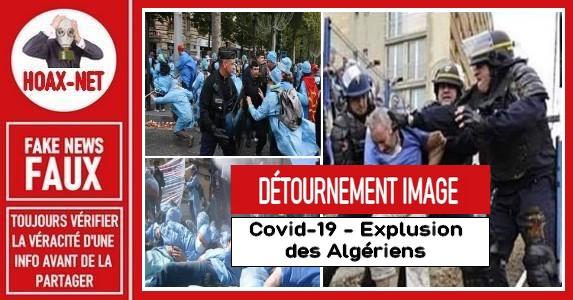 Non, des algériens n'ont pas été expulsés pour faire de la place dans les hôpitaux
