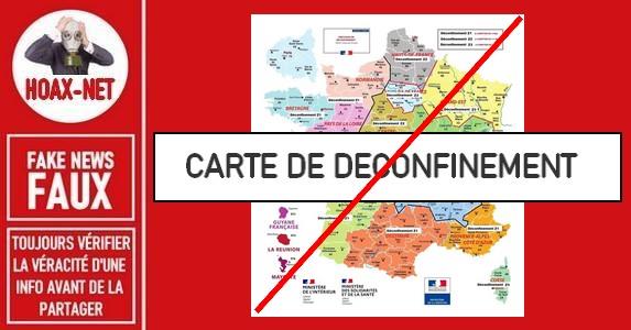 Non, cette carte de France ne représente pas le futur déconfinement.