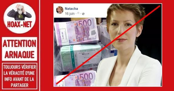 Non, Natacha Polony ne vous offrira pas 5.000€