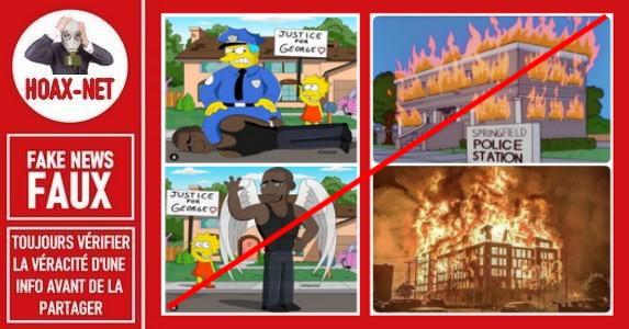 Non, ce ne sont pas des prédictions des Simpsons.