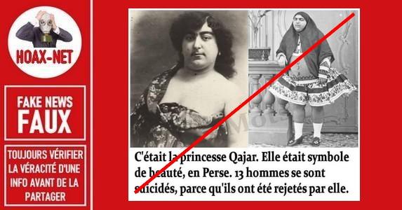 Mensonges historiques sur Esmat al-Dowleh la princesse Qâjâr