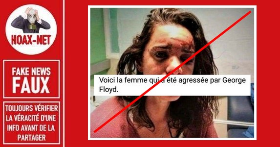 Non, George Floyd n'a pas agressé et violé une femme.