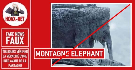 Non, la «Montagne Éléphant» n'existe pas.