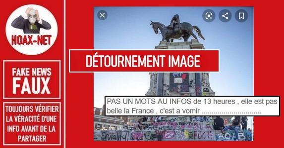 Non, cette statue ne se trouve pas en France