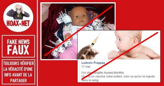 Les FAUSSES allégations concernant la composition d'un vaccin