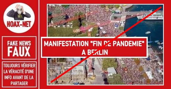 Non, ces photos ne sont pas la manifestation du 1er Aout 2020 à Berlin.