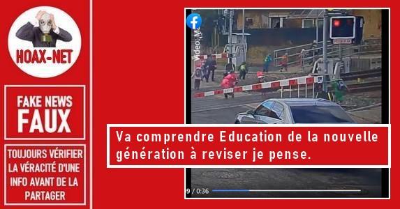 Non, cette vidéo n'a pas été réalisée en France